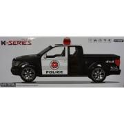 RC Távirányítós autó Police K-Series Pickup 27 MHz elemes, 30cm - 3699-L5