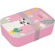 PPD - Bamboe lunchbox - No Drama Lama - Milieuvriendelijk en duurzaam!