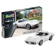 """Revell Revell07684 14.5cm """"Corvette C3"""" Model Kit"""