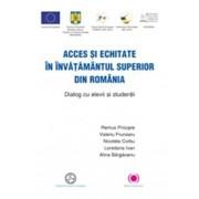 Acces si echitate in invatamantul superior din Romania. Dialog cu elevii si studentii/Valeriu Frunzaru, Remus Pricopie