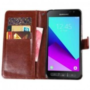 Samsung Galaxy Xcover 4 flip cover - Röd