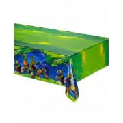 Mantel de plástico Tortugas Ninja Talla única