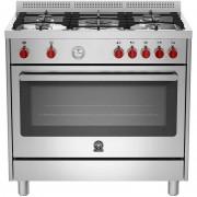 La Germania Prm965ext Cucina 90x60 5 Fuochi A Gas Forno Elettrico 85 L Classe A