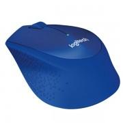 Miš Logitech M330 Silent Plus, optički , plavi