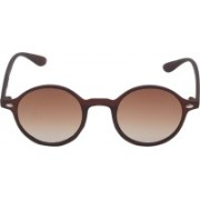 VS Club Retro Square, Round, Cat-eye Sunglasses(Brown)