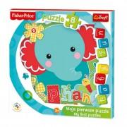 Baby fun puzzle (4mm vastag, keretes ) Kis elefánt