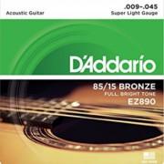 D'Addario EZ890 Žice za akustičnu gitaru - EZ890