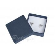 Kék színű ékszertartó doboz