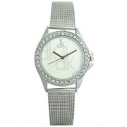 Dk Sliver Party ladies analog dial watches For Women By morli