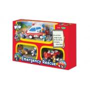 Igračka set 3u1 WOW Emergency Rescue