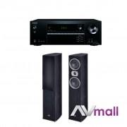 Pachet Receiver AV Onkyo TX-NR474 + Boxe Heco Victa Prime 502