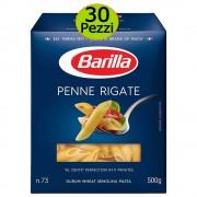 BARILLA Pasta penne rigate n 73 mutipack 30 pezzi 500 grammi cadauna