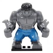 Generic Super Hero High Building Blocks Hulk Deadpool Bane Thanos Figure Darkseid Gorilla Grodd Mark 38 Igor Kids Cave Troll Action Toys O