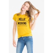 Here and There T-shirt met korte mouwen