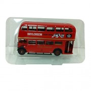 Exclusive First Editions (EFE) Brylcreem Double Deck Bus London Transport 11105 1:76 Scale Red Diecast Car Replica