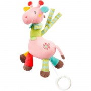Jucarie muzicala mini Girafa Fehn