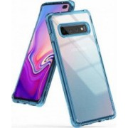 Husa Samsung Galaxy S10 Plus Ringke Fusion Transparent Albastru