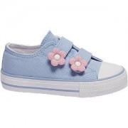 Cupcake couture Blauwe canvas sneaker klittenband Cupcake Couture maat 25