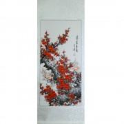 Pictura chinezeasca - Cires rosu (cod B70-1)