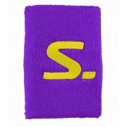 Salming Wristband Short 2-pack Purple/Safety Yellow