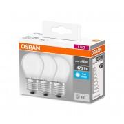SET 3x Bec LED E27/4W/230V - Osram
