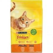 FRISKIES Csirkével és hozzáadott zöldségekkel száraz macskaeledel 10kg