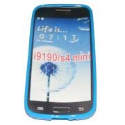 Силиконов гръб ТПУ за Samsung i9190 Galaxy S4 mini Син