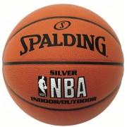 Minge baschet Spalding NBA Silver Indoor/Outdoor