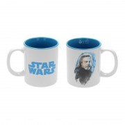 Mug Star Wars Les Derniers Jedi - Luke Skywalker Blanc Et Bleu