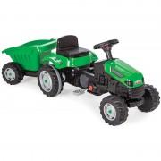Tractor cu pedale si remorca Active Green
