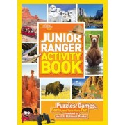 Junior Ranger Activity Book: Puzzles, Games, Facts, and Tons More Fun Inspired by the U.S. National Parks!, Paperback