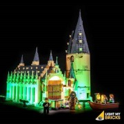 LIGHT MY BRICKS Kit for 75954 LEGO Hogwarts Great Hall