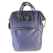 Baba - mama pamutvászon táska sötétkék színben