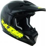 Lazer MX7 Full Carbon Helmet - XS - Flash Yellow