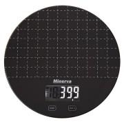 Cantar de bucatarie Minerva Experience Eclipse K45, 5 kg, Negru
