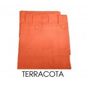 Cortinas Madras 140 X 210 TERRACOTA
