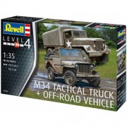 Revell 032603, M34 Tactical Truck + Off-Road Vehicle, 1:35 scale plastic models