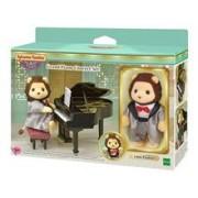 Set Joc Sylvanian Families Town Series Grand Piano Concert