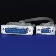 ROLINE 11.01.4518 :: AT/XT кабел за модем D9F/D25M, 1.8 м, монолитен