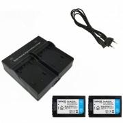 Ismartdigi FV70 Camara Digital 2060mAh Baterias + Cargador Dual-Negro
