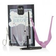 Take Back Your Brows Kit: 1x Brow Buddy 1x Universal Brow Pencil 1x Tweezers 1x Scissors 4pcs Take Back Your Brows Комплект: 1х Brow Buddy 1х Универсален Молив за Вежди 1х Пинцети 1х Ножички