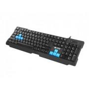 Tastatura Cu Natec Fir Fury Gaming HORNET USB, US layout, Neagra