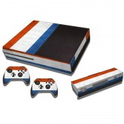 MicroSoft French Vlag patroon Stickers voor Xbox One Game Console