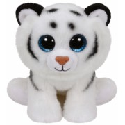 Jucarie Plus 15 cm Beanie Babies Tundra white tiger TY