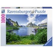 Puzzle Portul Iofoten, 1000 piese