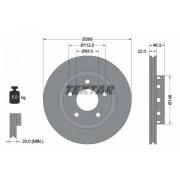 TEXTAR Discos De Freno AUDI 92098400 4D0615601B,4D0615601B,4D0615601B 4D0615601B