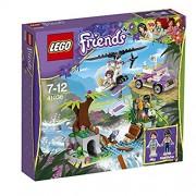 Lego, Jungle Bridge Rescue, Multi Color