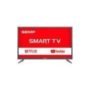 Smart TV LED 39 Semp L39S3900FS Full HD com Conversor Digital 2 HDMI 1 USB Wi-Fi Closed Caption - Grafite