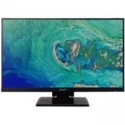 Монитор ACER 23.8 UT241YBMIUZX, 23.8 инча Full HD 1920x1080, 4ms, 100 000 000:1, HDMI, USB, VGA, Черен