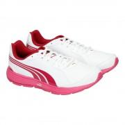 "Puma Buty Puma Descendant SL Jr ""White/Pink"" 18751505"